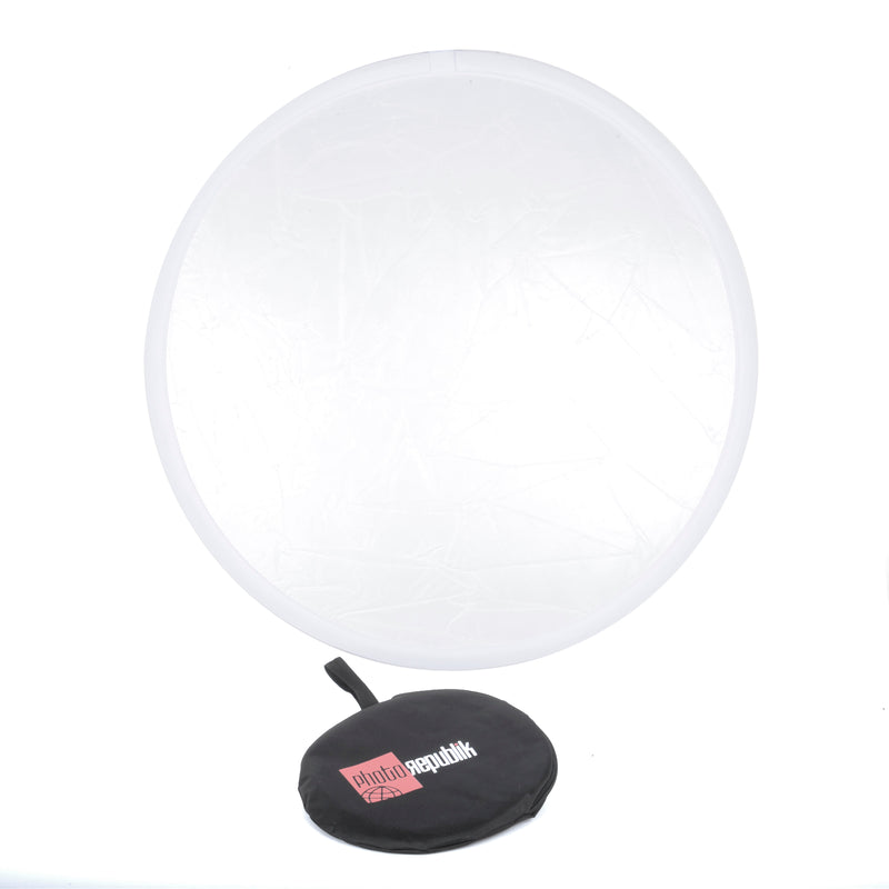 "PhotoRepublik 52"" White Translucent Reflector"