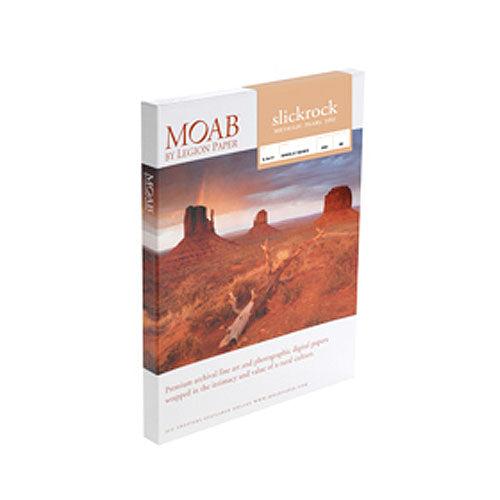 "Moab A2 (16.5 x 23.4"") Slickrock Metallic Pearl 260 - 25 Sheets"