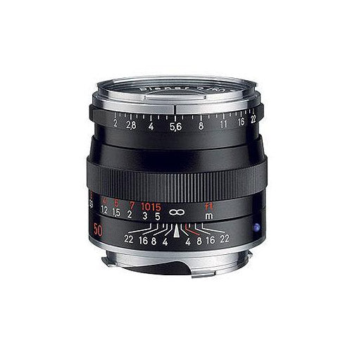 Zeiss Planar T* 50mm f2.0 ZM - Black