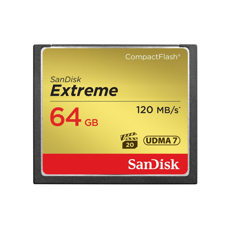 Sandisk Extreme 800x 64GB Compact Flash