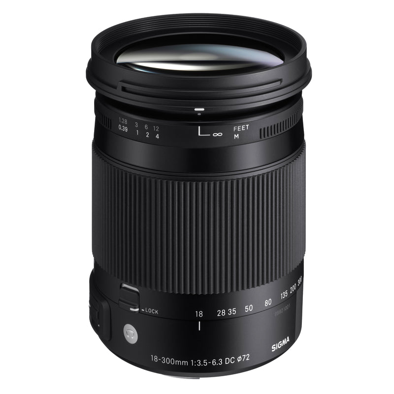 Sigma 18-300mm f3.5-6.3 DC Macro OS HSM Contemporary - Canon EF-S Mount