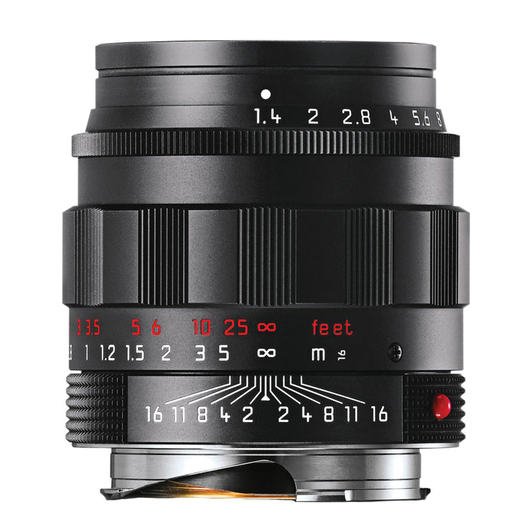 Leica Summilux-M 50mm f1.4 ASPH. - Black Chrome Edition