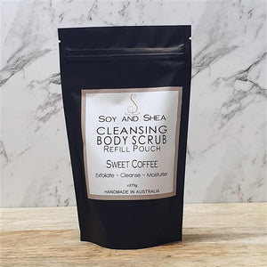 Sweet Coffee Cleansing Body Scrub Refill Pouch