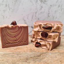 Load image into Gallery viewer, Tiger Eye (Red) Soap Bar