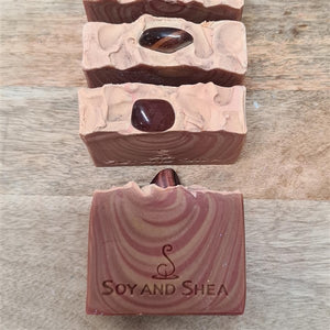Tiger Eye (Red) Soap Bar
