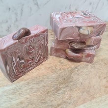 Load image into Gallery viewer, Vogesite Gemstone Soap Bar