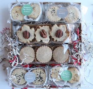 Large Shortbread Box - Flour & Oats Artisan Cookies