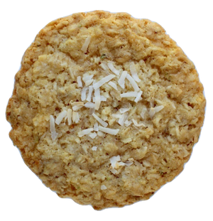 Crispy Coconut Oatmeal Cookie