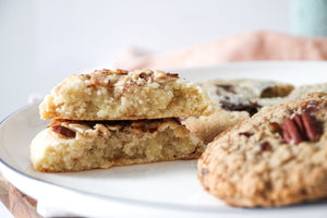NEW!!  Almond and Toffee Cookie
