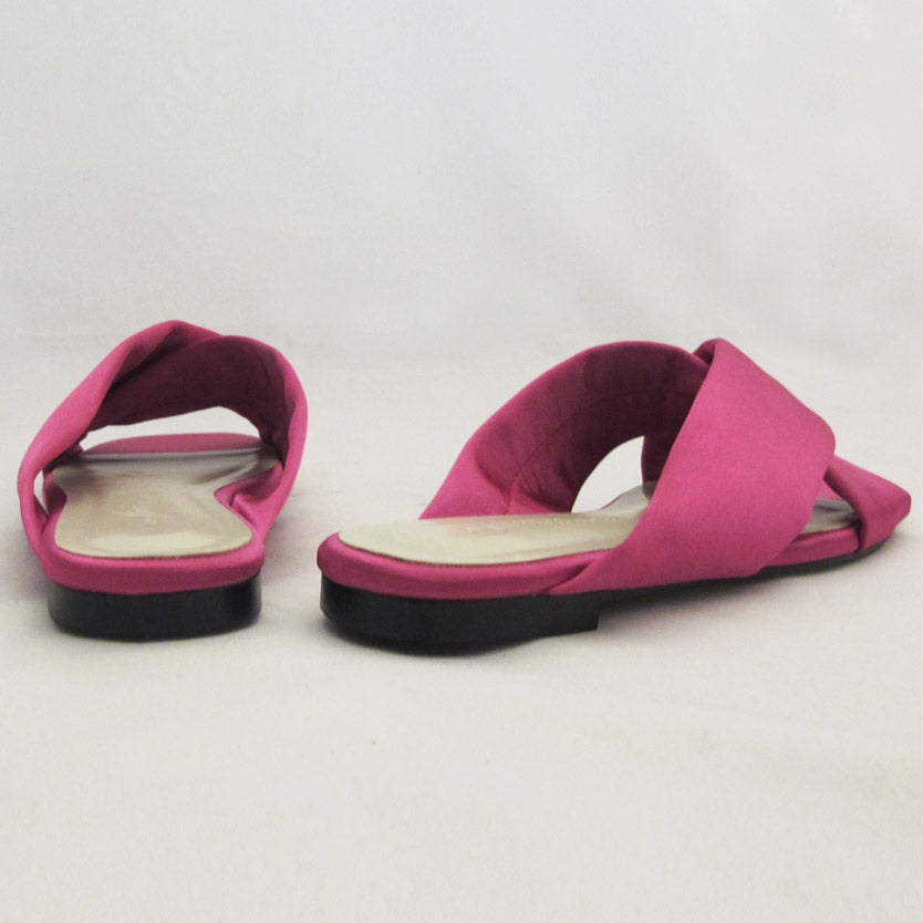 SANTORINI SATEEN SLIP ON