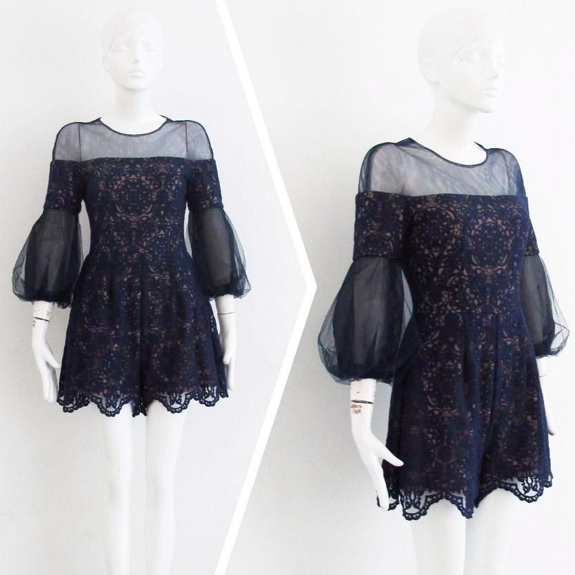LACE PLAYSUIT