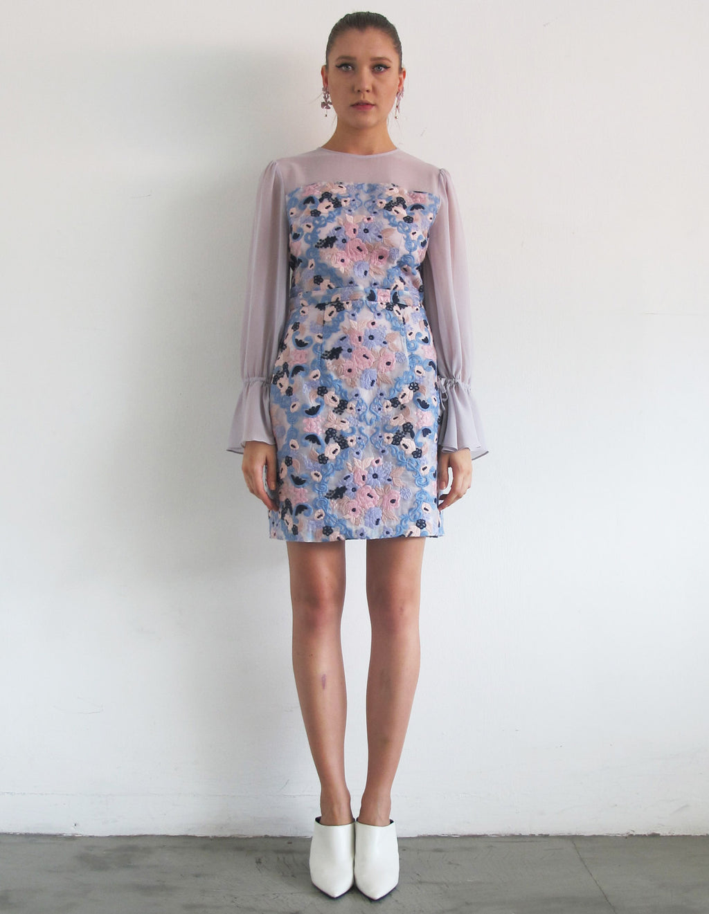 DIDIE FLOWER MINI DRESS
