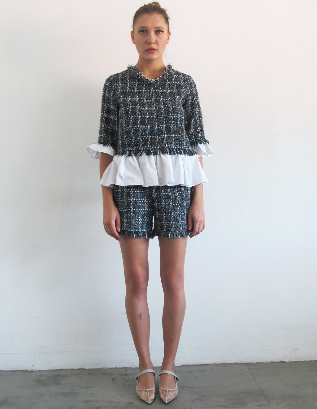 TWEED SHORT SET
