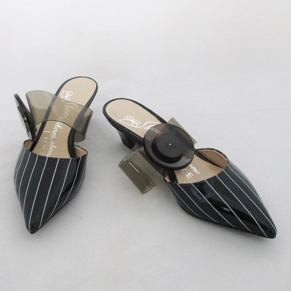 PIN STRIPE SANDAL