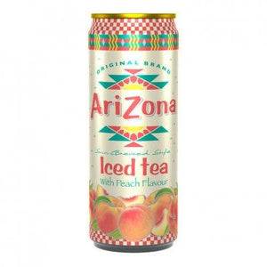 Arizona Peach Tea, 12 dósir í kassa