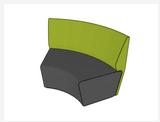 Motion Loop 60° Outer - Seating & Ottomans - pimp-my-office-au