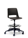 Unica Swivel Stool PP