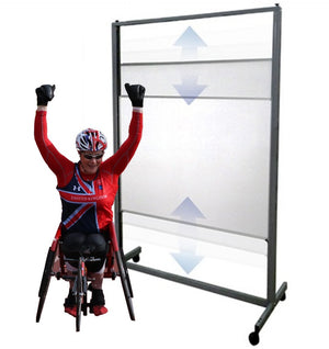 Vertical Sliding Whiteboard Aspire