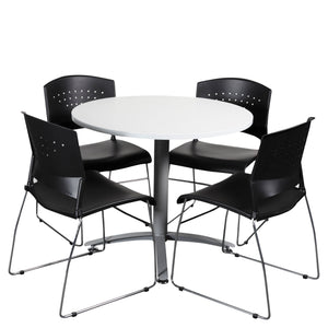 Round Meeting Table Combination