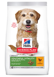 Hill's Science Plan Adulte Small Youthful Vitality 7+ Poulet