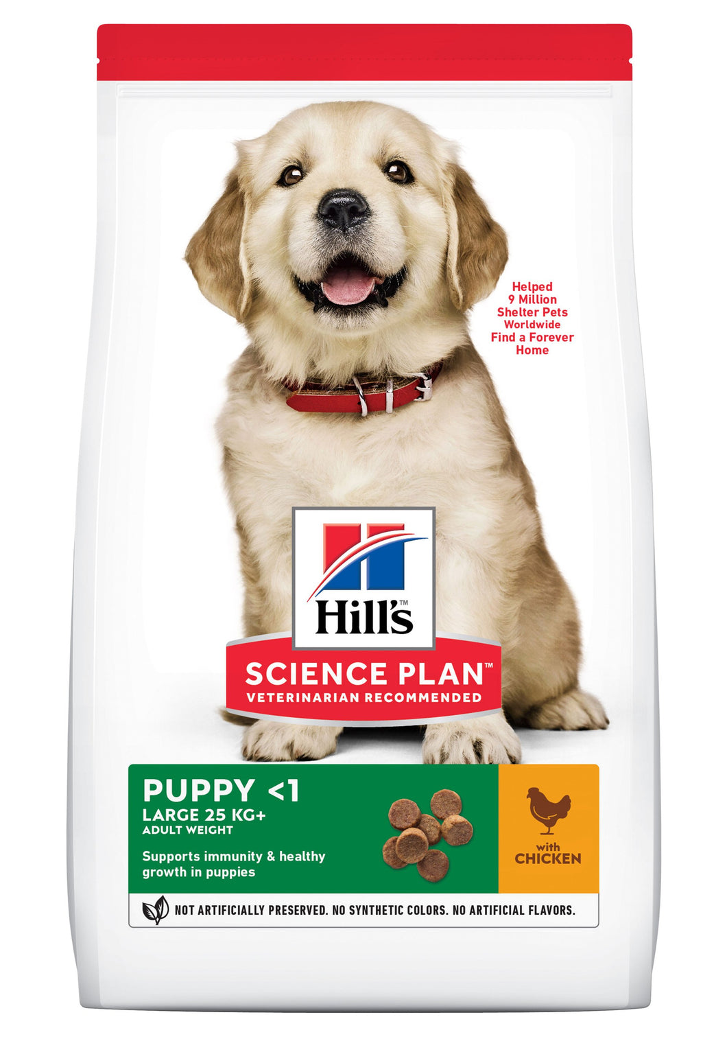 Hill's Science Plan Puppy Large Poulet