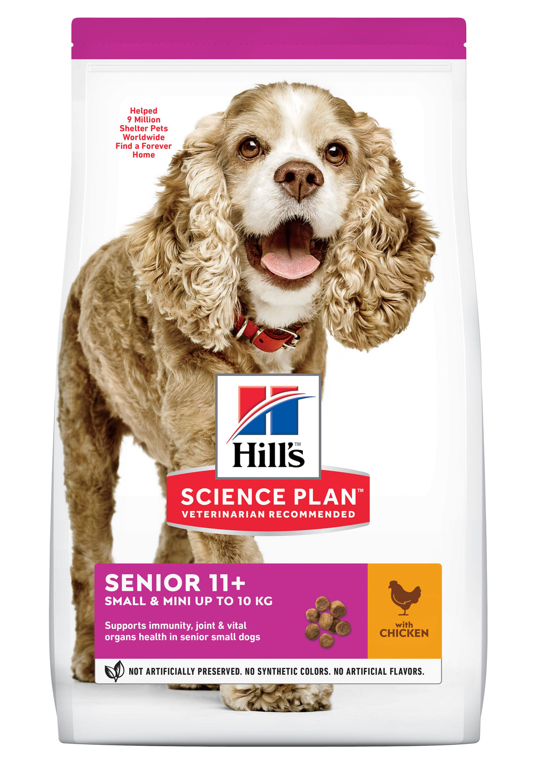 Hill's Science Plan Senior Small 11+ Poulet