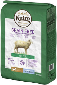 Nutro Grain Free Junior Grande Race Agneau