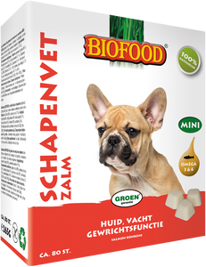 Biofood Graisse De Mouton mini saumon