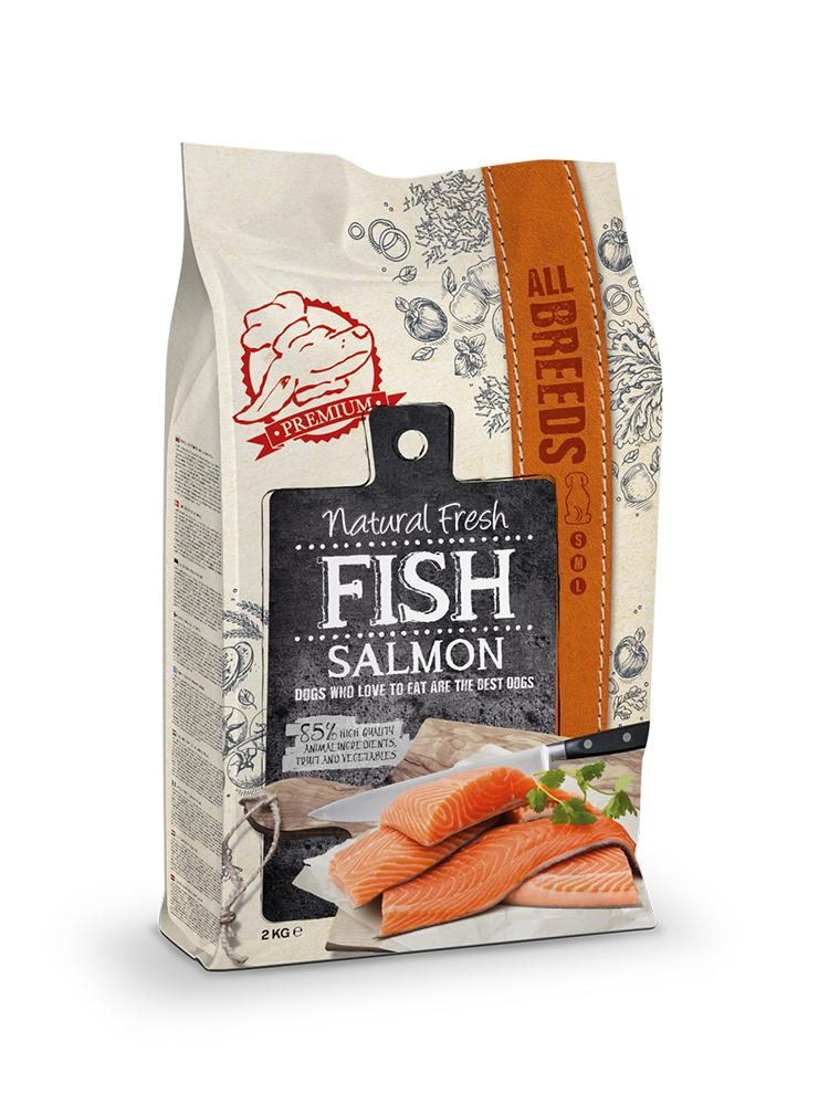 Natural Fresh Fish Adult Saumon