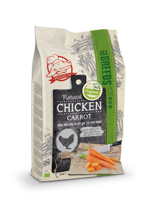 Natural Fresh Meat Bio Poulet Carottes