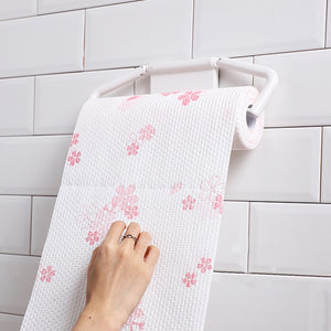 Flower Reusable Kitchen Wipes (1 Roll/50Pcs) - ecologiks