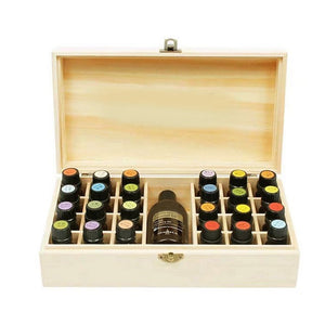 Bamboo Essential Oils Box - ecologiks