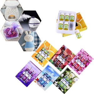 Essential Oils For Aromatherapy (6pcs/set) - ecologiks