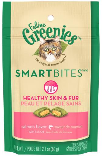 Greenies Smartbites Skin & Fur  2.1oz GREENIES