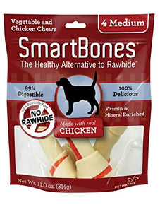 Smart Bone Chicken Medium Bone 4pk