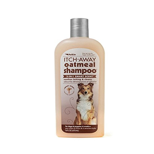 Petkin Itch-Away Shampoo - 16 oz