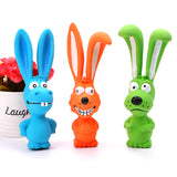Colorful Bunny Dog Toys (Latex)