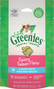 Greenies Feline Salmon Treat  GREENIES
