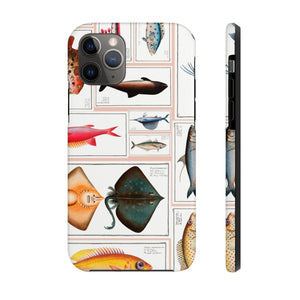 Sea Life Drawings Tough Phone Case