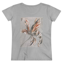 Load image into Gallery viewer, Neutral Floral Organic Tee