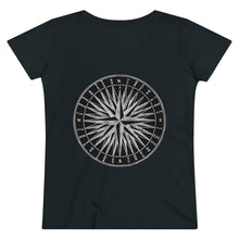 Load image into Gallery viewer, Vintage Compass Organic Tee
