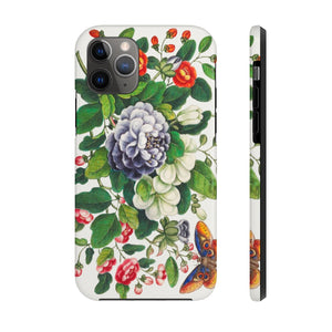 Botanical Floral Illustrated Tough Phone Case