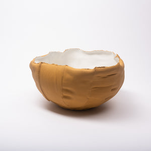 Bowl paperclay hellbraun