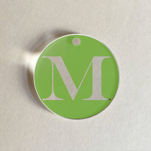 Charms Initials M