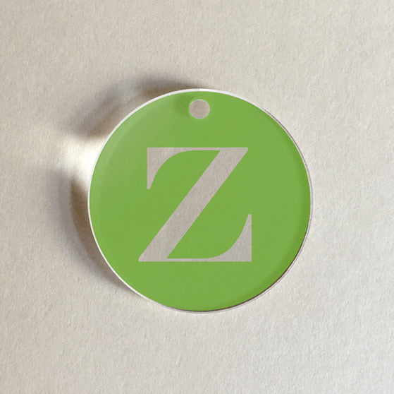Charms Initials Z