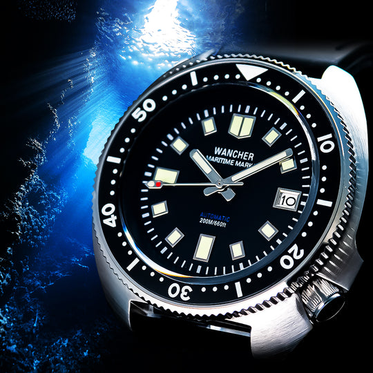 Explore the OCEAN with WANCHER DIVERS WATCHES