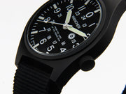 Gurkha Black Dial White 0