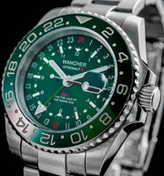 Astronaut II GMT Green - Wancher Watch