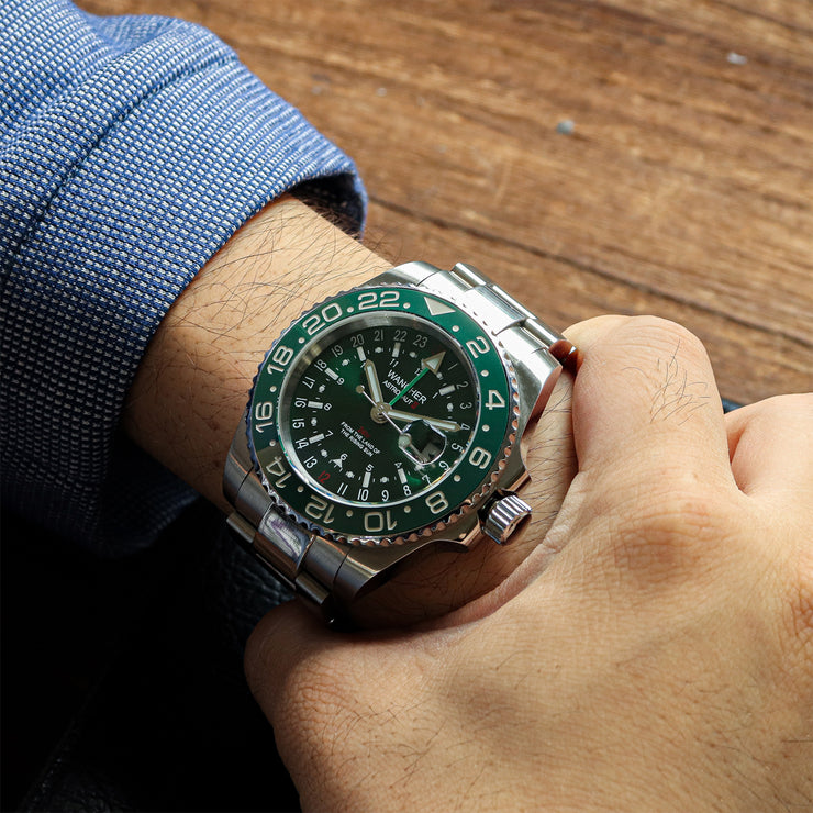 Astronaut II GMT Green