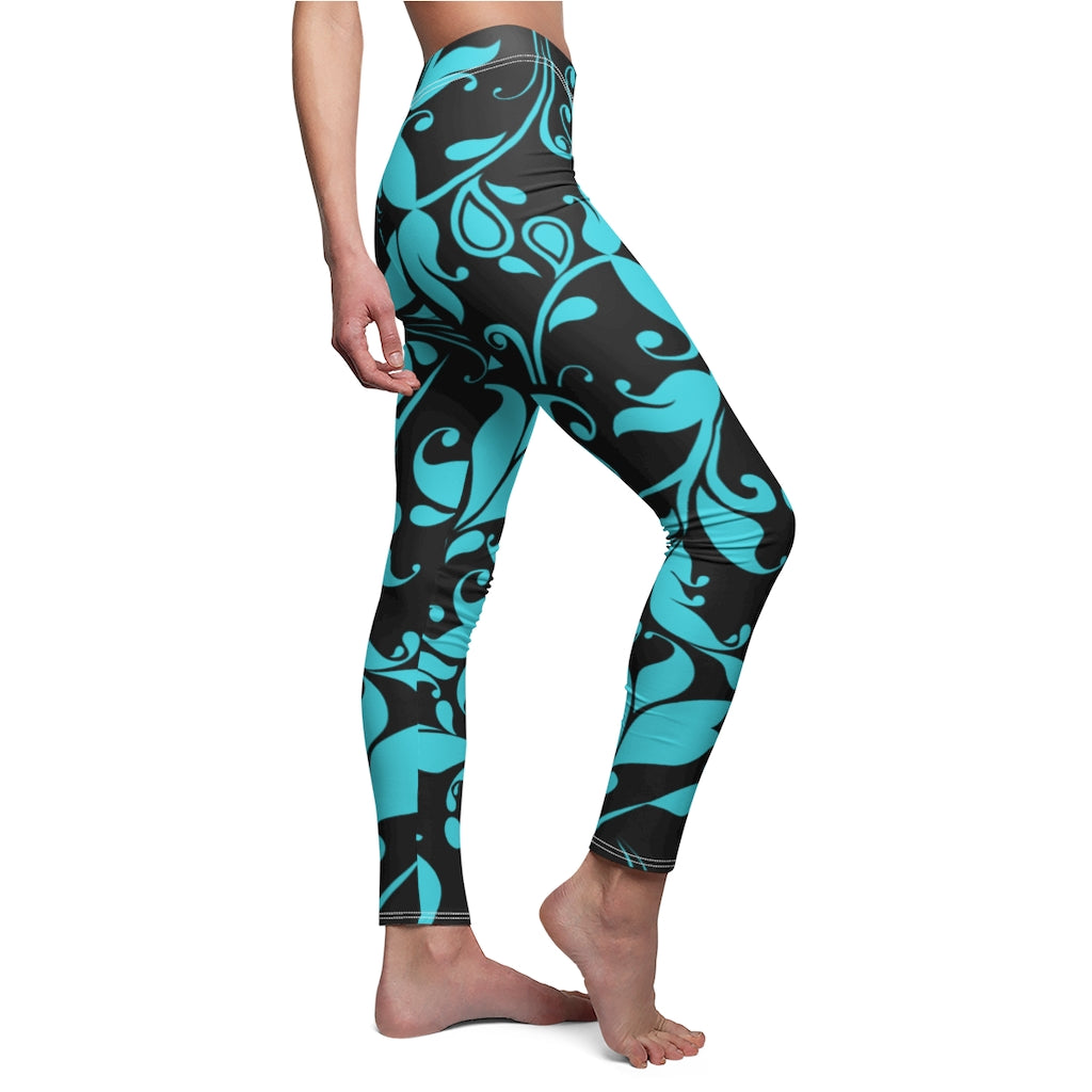 Mountain  Flowers Womens Leggings